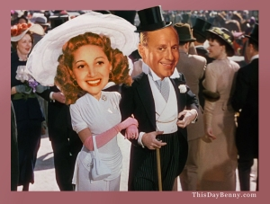 Easter Parade Jack Benny Mary