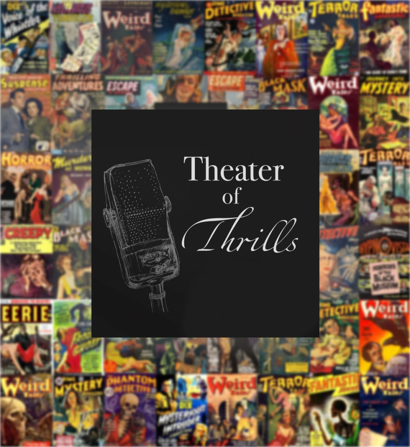 Theater of Thrills wall logo