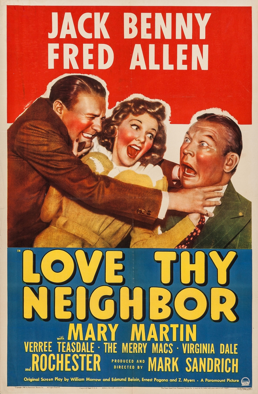 love thy neighbor movie poster